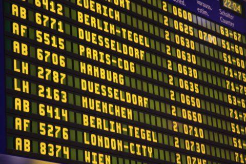Aeropuerto - Vuelos - Tabla