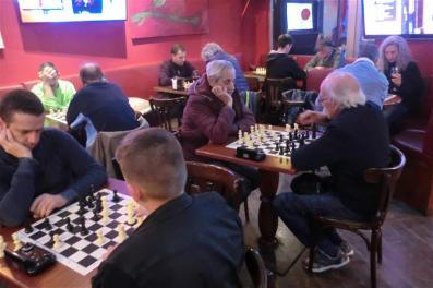 Torneo de Navidad de ajedrez.