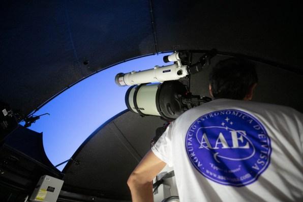 Observatorio astronómico de Puig des Molins.