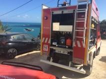 Bomberos rescate precipitado en Puig des Molins