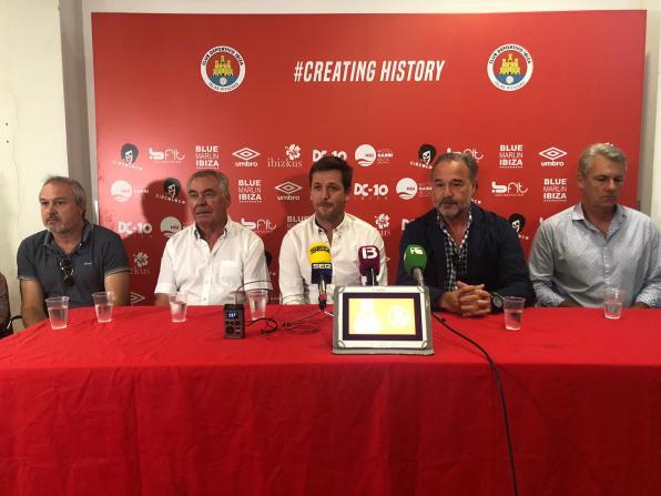 Presentación de Antonio Palma como nuevo presidente del CD Ibiza