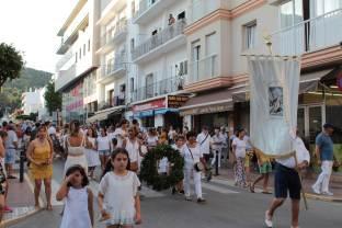 Procesión de la Virgen del Carmen en Santa Eulària