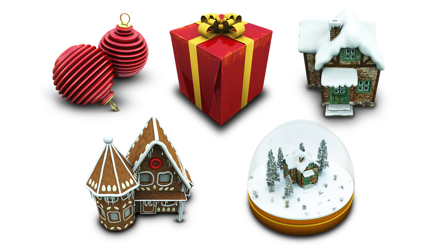 Arch in The Ultimate Christmas Round-Up: Patterns, Brushes, Vectors and Fonts