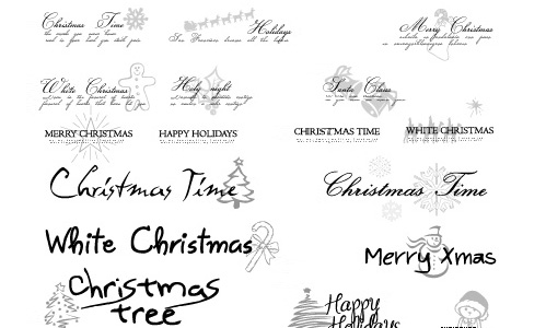 Xmasimagepack-christmas in The Ultimate Christmas Round-Up: Patterns, Brushes, Vectors and Fonts