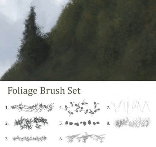 Drawingsbrushes62 in 100+ Free High Resolution Photoshop Brush Sets