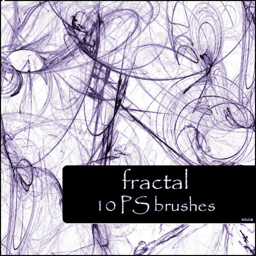 Fractalbrush94 in 100+ Free High Resolution Photoshop Brush Sets