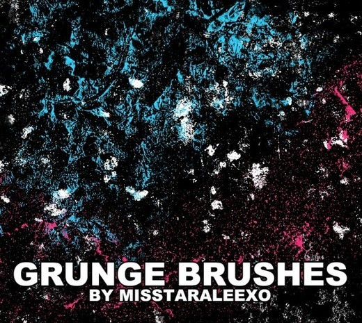 Grungebrushes42 in 100+ Free High Resolution Photoshop Brush Sets