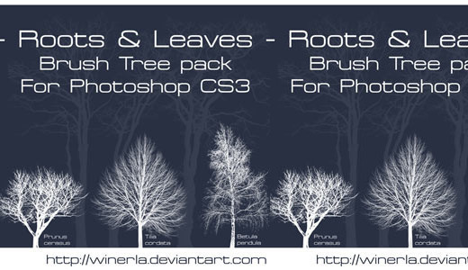 Naturesbrush113 in 100+ Free High Resolution Photoshop Brush Sets