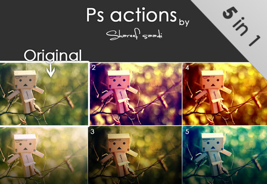 Photoshopactions8 in 80+ Time Saving and Free Photoshop Action Sets To Enhance your Photos