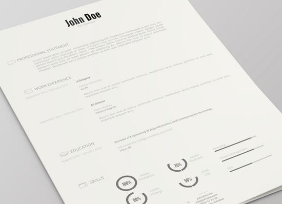26 Free Resume Templates to Give You That Career Boost   The JotForm     Resume Template