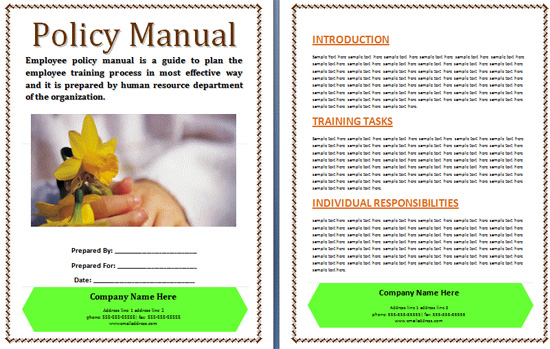 department manual template - search results for employee training calendar template