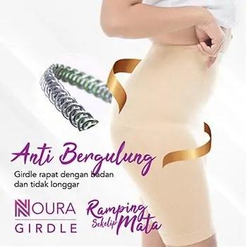 Noura Girdle Slimming Anti Bergulung