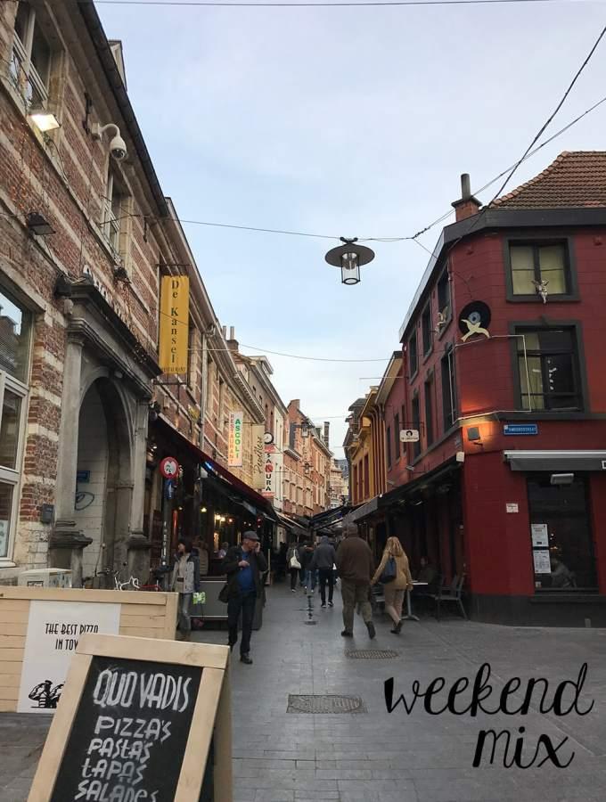 downtown leuven, belgium