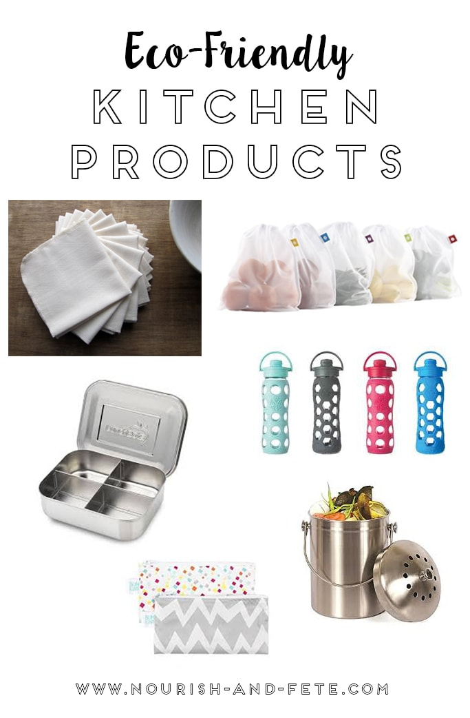Celebrate Earth Day by welcoming some of these eco-friendly kitchen products into your home, and entering this GIVEAWAY for a set of 18 organic unpaper towels!