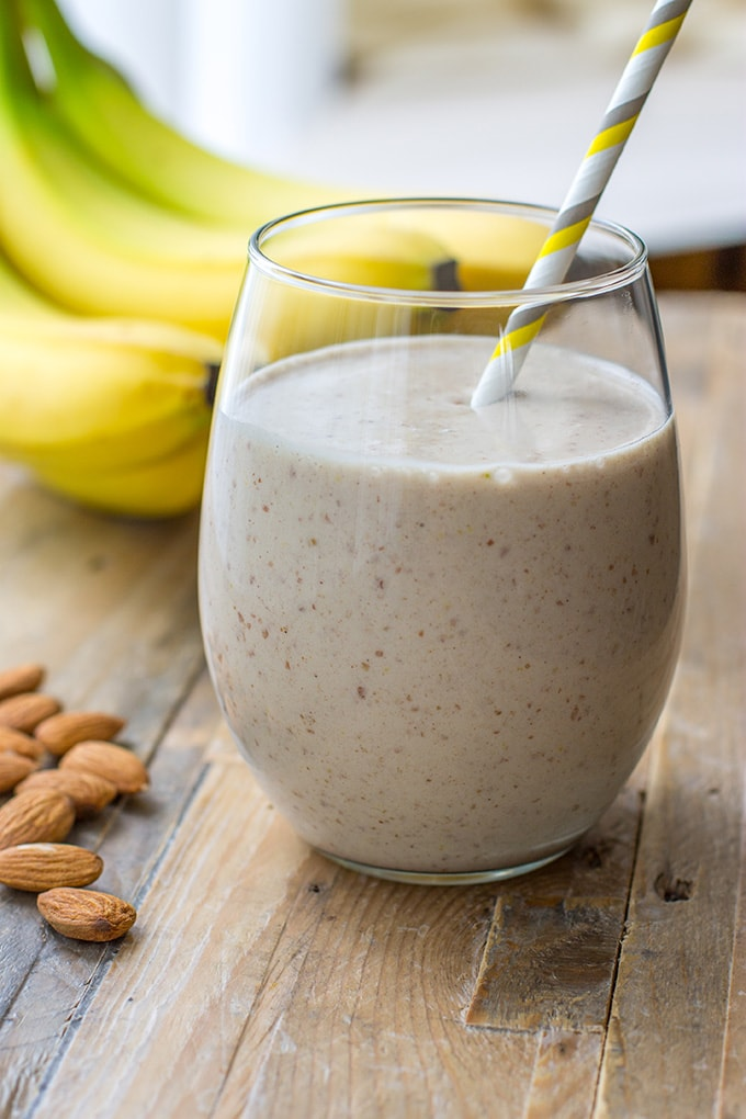 Nourish and Fete Banana Smoothie