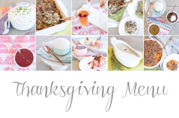 gluten free dairy free thanksgiving menu