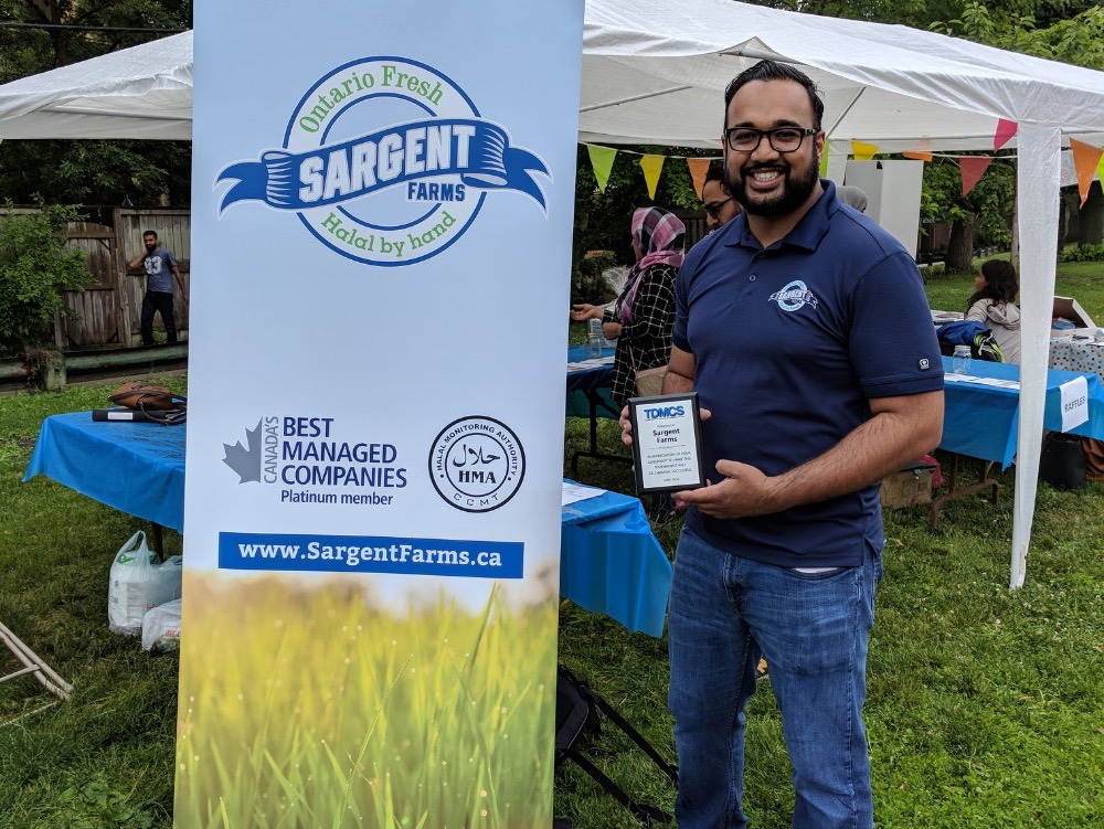 Sargent Farms sponsored event