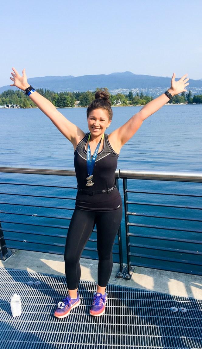 Lululemon Seawheeze Half Marathon Finisher
