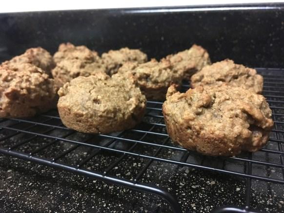 peanut butter banana honey muffins