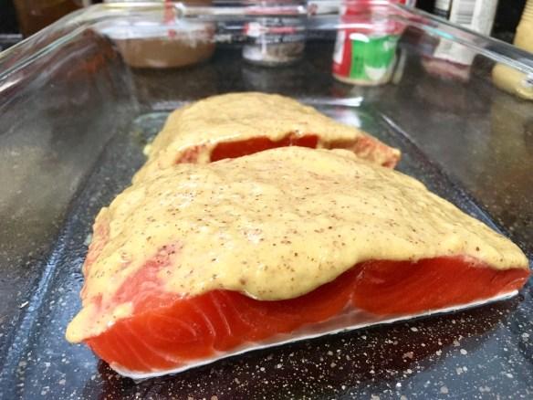 horseradish dijon salmon