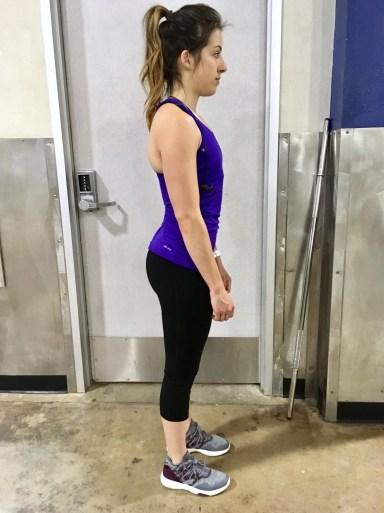 incorrect posture