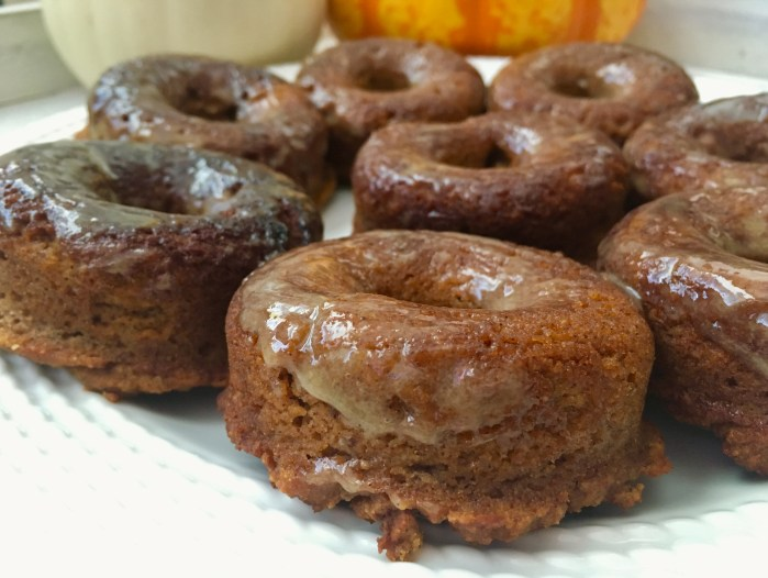 Paleo Pumpkin Cake Donuts