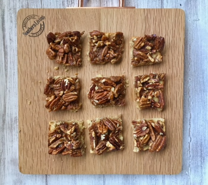 Make Ahead Paleo Pecan Pie Bars