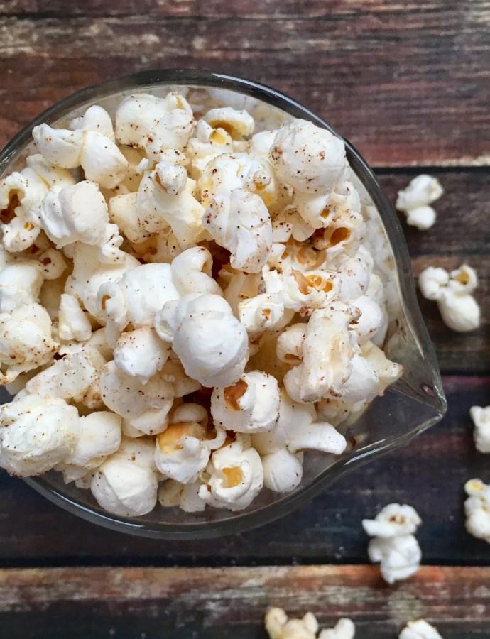 Skinny Sweet & Salty Popcorn