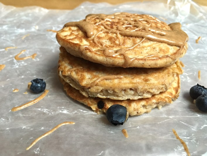 Superfood Blueberry Pancakes {Paleo-Friendly, Gluten-Free, Sugar-Free}