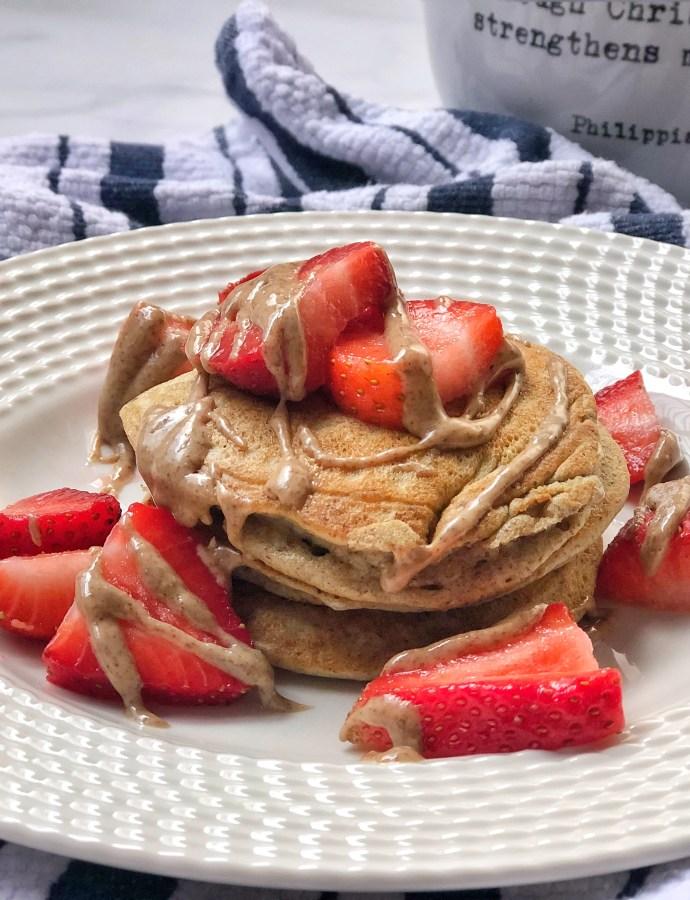 Gut-Friendly Collagen Pancakes