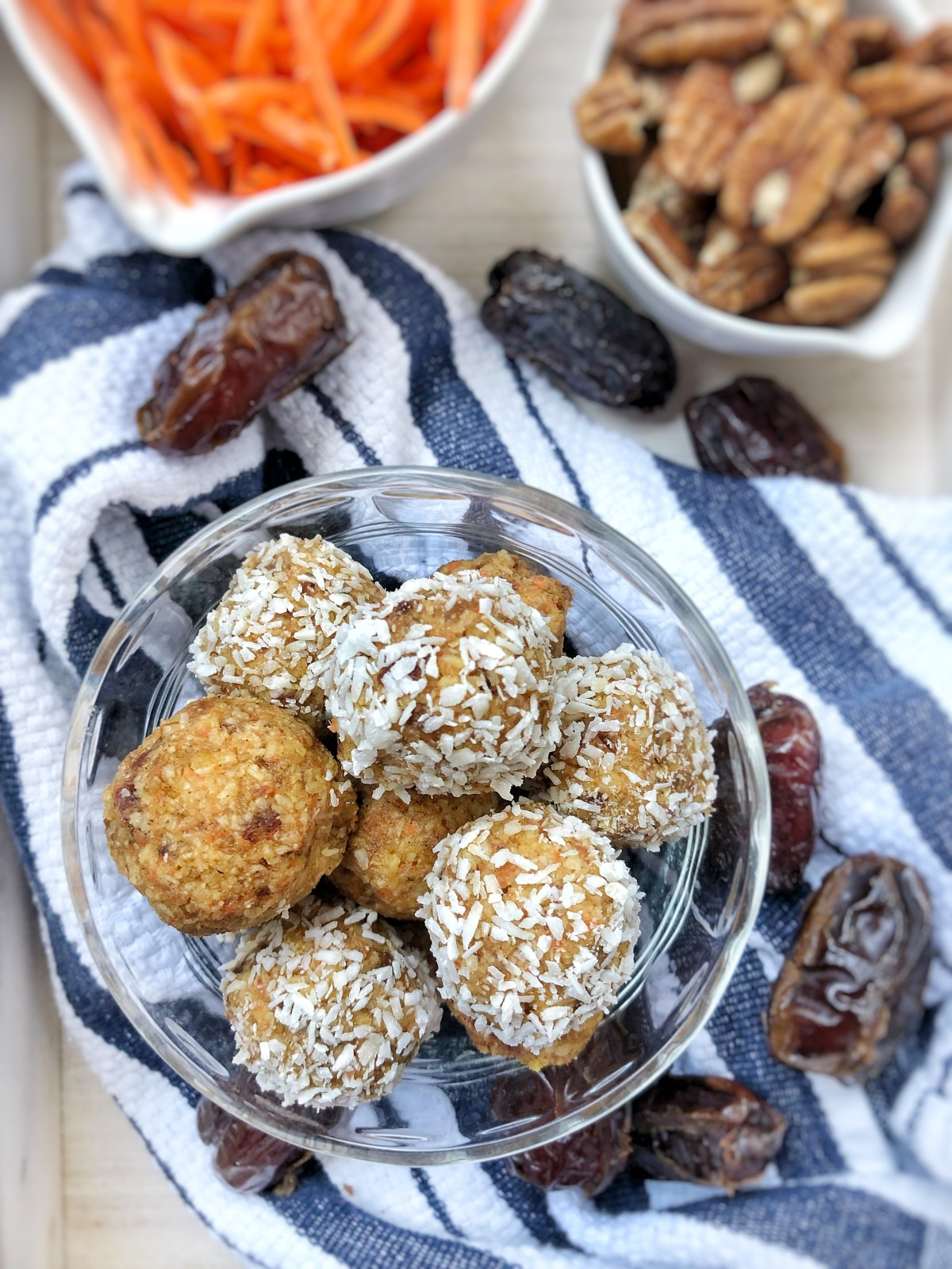 Carrot Cake Collagen Bites