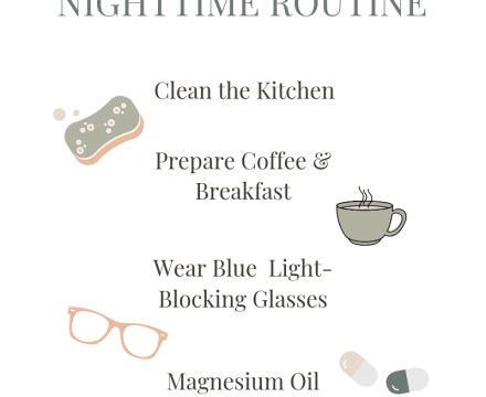 5 Steps to a Healthier Nighttime Routine (& Life)