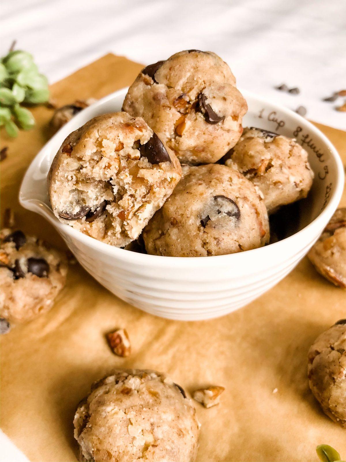Paleo Cookie Dough Bites