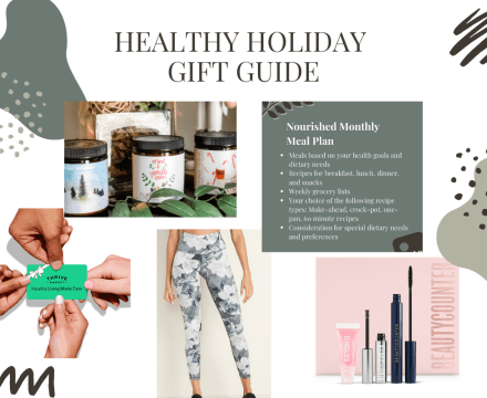 Healthy Holiday Gift Guide