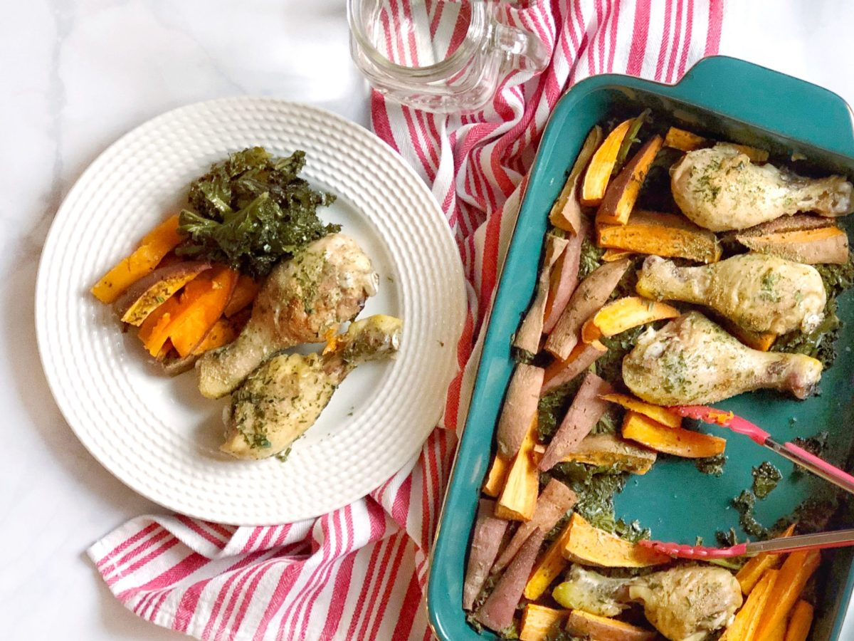 Tarragon Chicken Bake