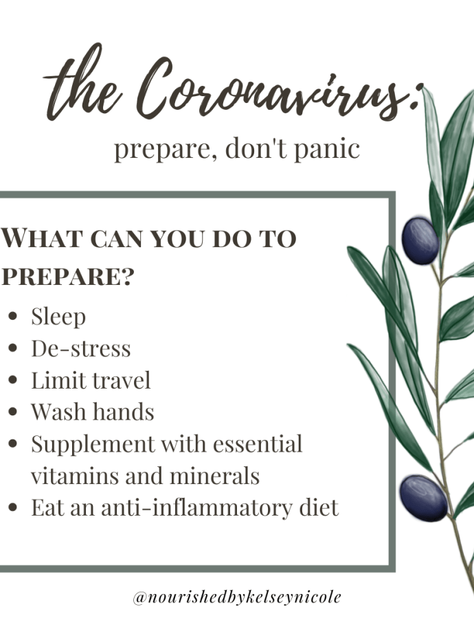 The Coronavirus: Prepare, Don't Panic