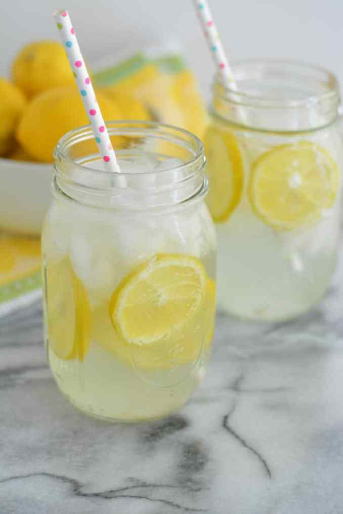 Fresh Squeezed Single Serve Homemade Lemonade - Nourished