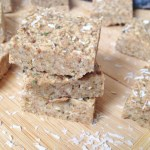 Toasted coconut hemp seed bars