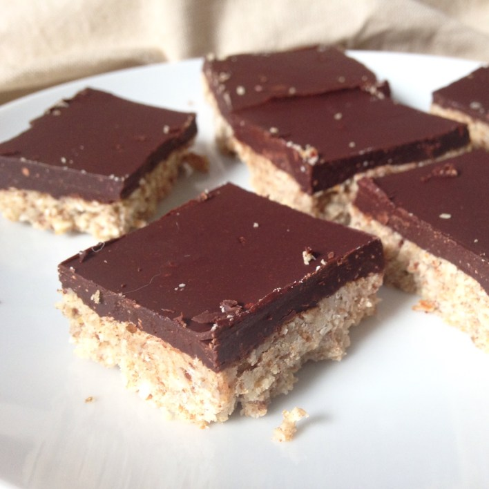 chocolate-nut-squares