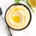 Homemade Lemon Garlic Hummus