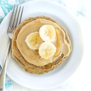 Gluten Free Flax Oatmeal Pancakes