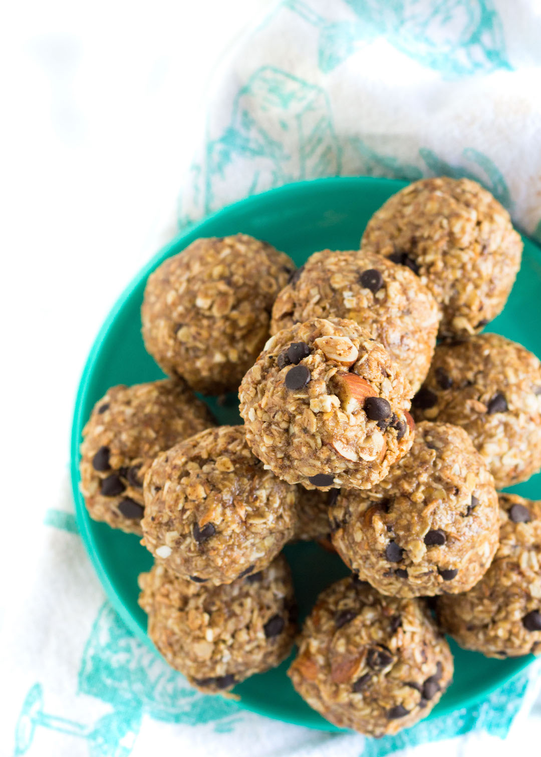 Toasted Coconut Almond Energy Bites are the perfect simple and easy to make oat-based, granola-like snack that everyone will love!