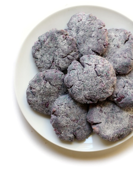 9 Awesome Gluten Free Cookie Recipes | Purple Sweet Potato Sugar Cookies