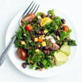 Black Bean and Kale Salad