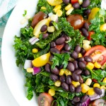 Southwest Black Bean and kale Salad
