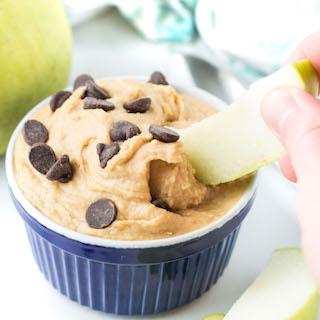 Peanut Butter Cookie Dough Dip {gluten free}