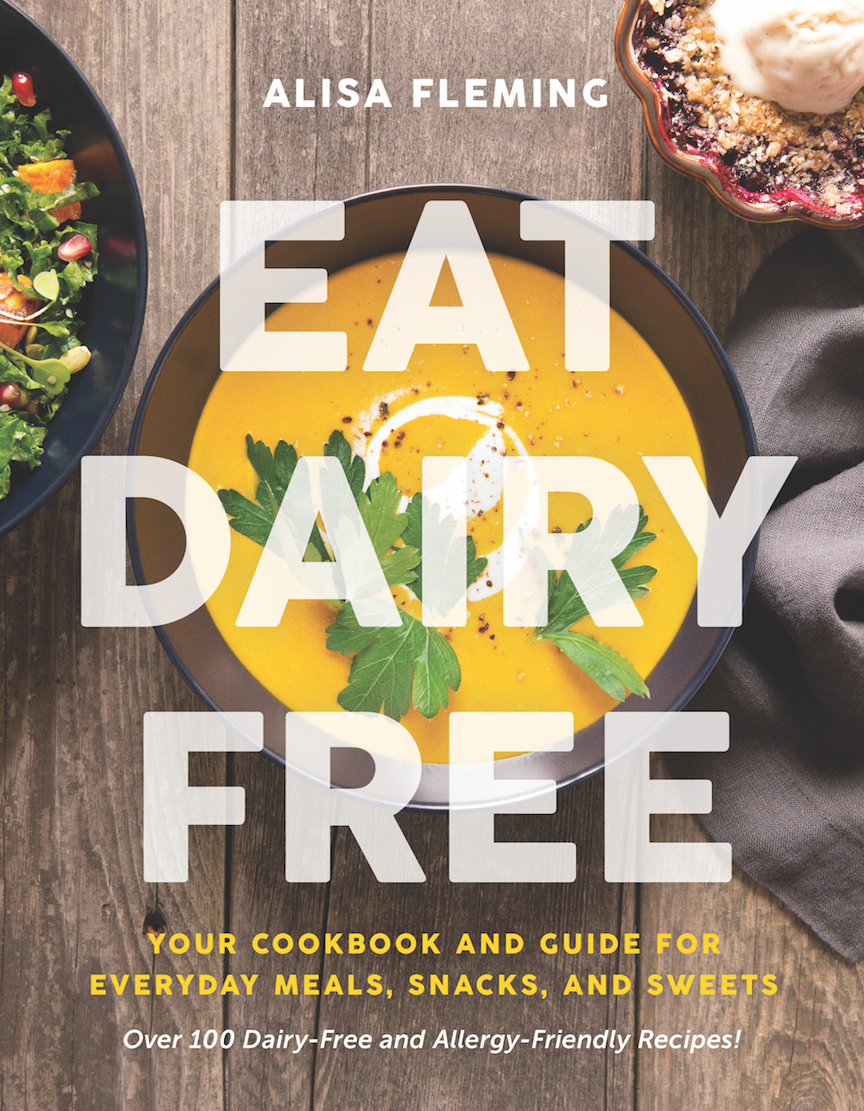 Eat Dairy Free - Cover Image