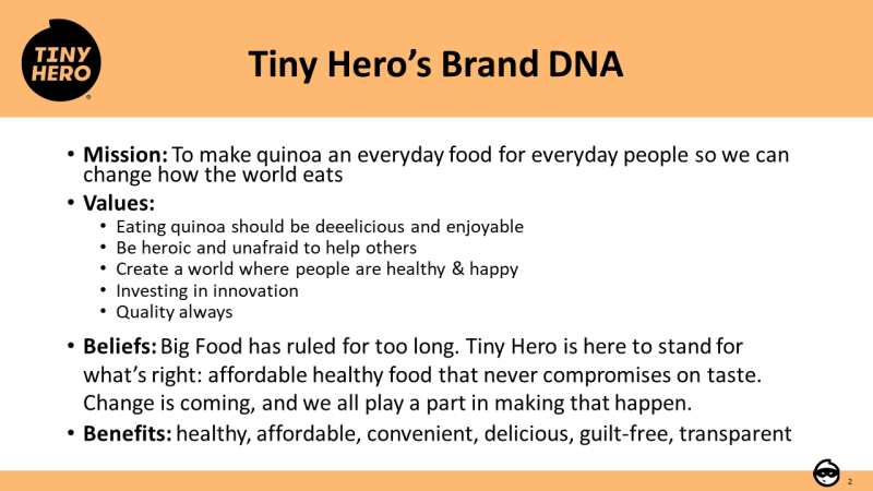 Tiny Hero Brand DNA
