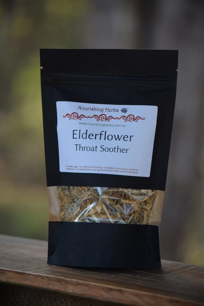 Elderflower Throat Soother