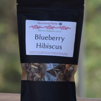 Blueberry Hibiscus herbal tea